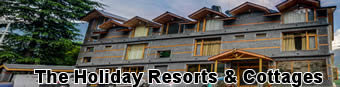 The holiday resorts and Cottages Manali